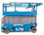 Aerial lift and scissor lift batteries