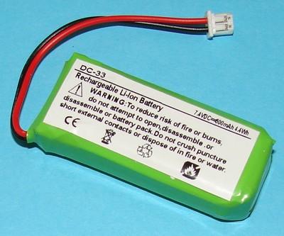 Battery For Dogtra 2300ncp Transmitter Dog Collar