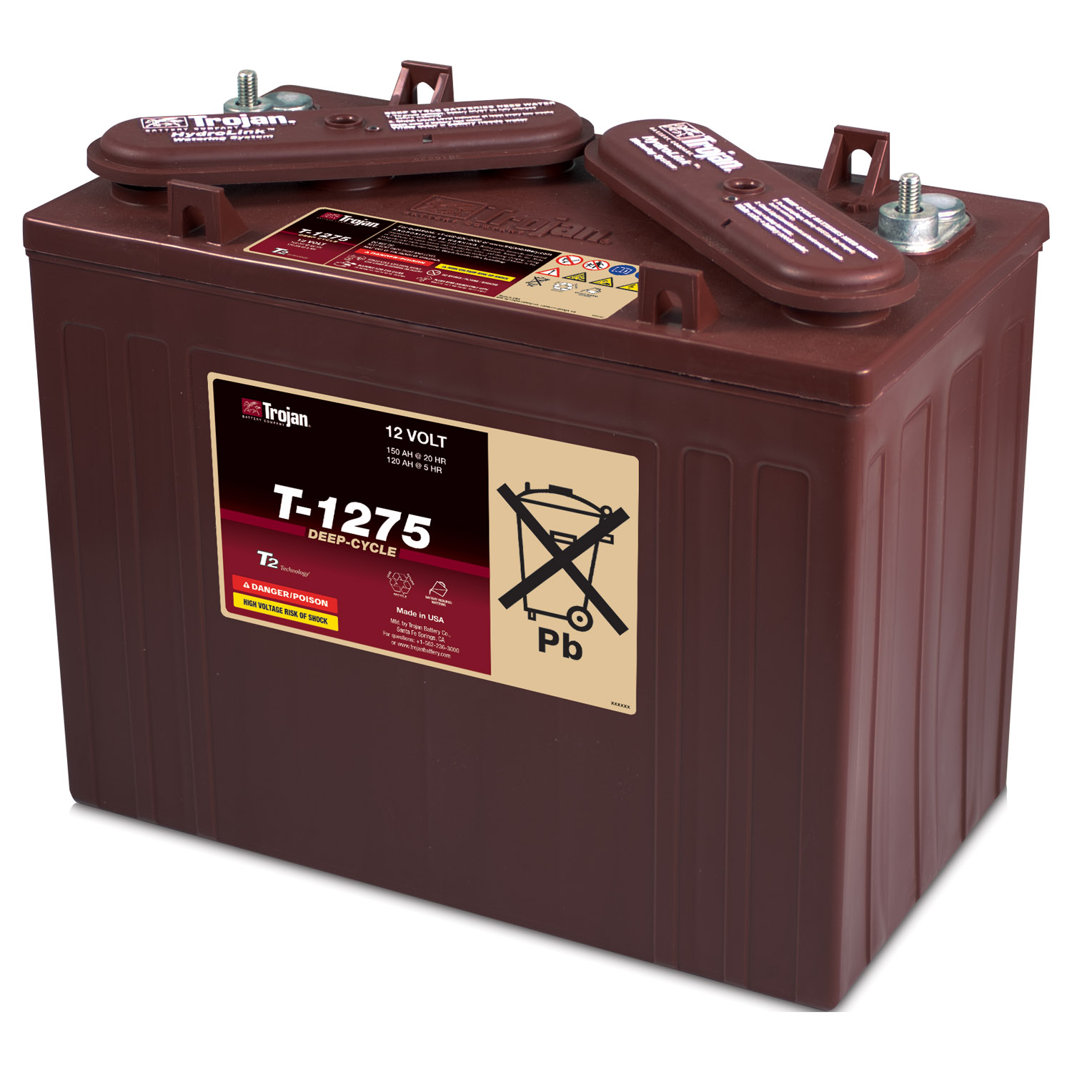 Trojan T 1275 Wiring Diagram Libraries Club Car 12 Volt Battery 24 Batterie Golf 5 V Gt Tdi Startvorgang Mit Voller Batteriet1275 Cart