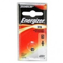 Energizer 319 Zero Mercury Silver Oxide Button Cell - 6: 1pks = 6 cells