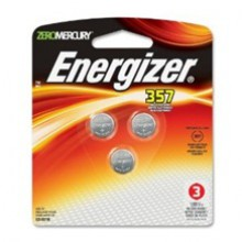 Energizer 357 Zero Mercury Silver Oxide Button Cell - 12: 3pk = 36 button cell batteries