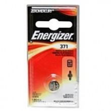 Energizer 371 Zero Mercury Silver Oxide Button Cell - 6: 1pks = 6 cells