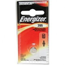 Energizer 395 Zero Mercury Silver Oxide Button Cell - 6: 1pks = 6 cells