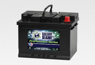 Battery For 2009 Ford Fusion 12 Volt Automotive Ltv