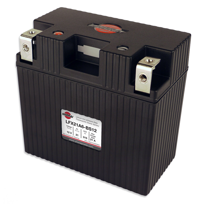 Shorai lithium battery for yamaha apex lightweight for Yamaha motorcycle batteries