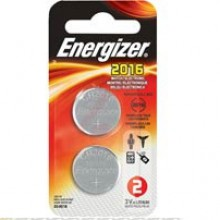 Energizer 2016 Lithium Coin Cell - 20: 5pc tear strips = 100 coin cell batteries