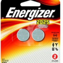 Energizer 2025 Lithium Coin Cell - 6: 1pks = 6 coin cell batteries