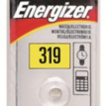 Energizer 319 Zero Mercury Silver Oxide Button Cell - 20: 5pc tear strips = 100 button cell batteries