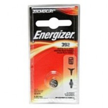 Energizer 392 Zero Mercury Silver Oxide Button Cell - 6: 1pks = 6 cells