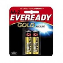 Eveready AA Gold Alkaline Battery - 24: AA 2pks = 48 batteries