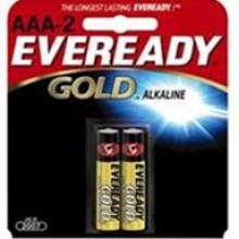 Eveready AAA Gold Alkaline Battery - 24: AAA 2pks = 48 batteries