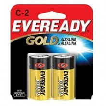 Eveready C Gold Alkaline Battery - 24: C 2pks = 48 batteries