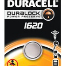 Duracell 1620 Lithium Coin Cell - 6: 1pks = 6 coin cell batteries