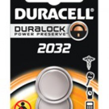 Duracell 2032 Lithium Coin Cell - 6: 2pks = 12 coin cell batteries