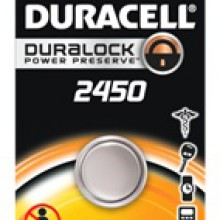 Duracell 2450 Lithium Coin Cell - 6: 1pks = 6 coin cell batteries