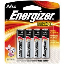Energizer AA MAX Alkaline Battery 48: AA 4pks = 192 batteries