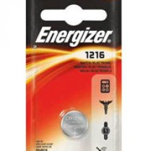 Energizer 1216 Lithium Coin Cell - 6: 1pks = 6 coin cell batteries