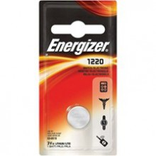 Energizer 1220 Lithium Coin Cell - 6: 1pks = 6 coin cell batteries