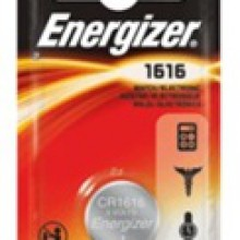 Energizer 1616 Lithium Coin Cell - 6: 1pks = 6 coin cell batteries