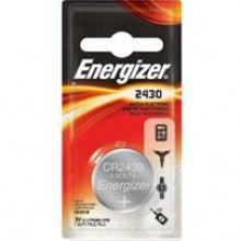 Energizer 2430 Lithium Coin Cell - 6: 1pks = 6 coin cell batteries