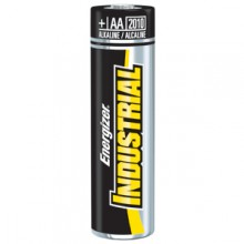 Energizer AA Industrial Alkaline Battery - 6: AA 24pks = 144 batteries